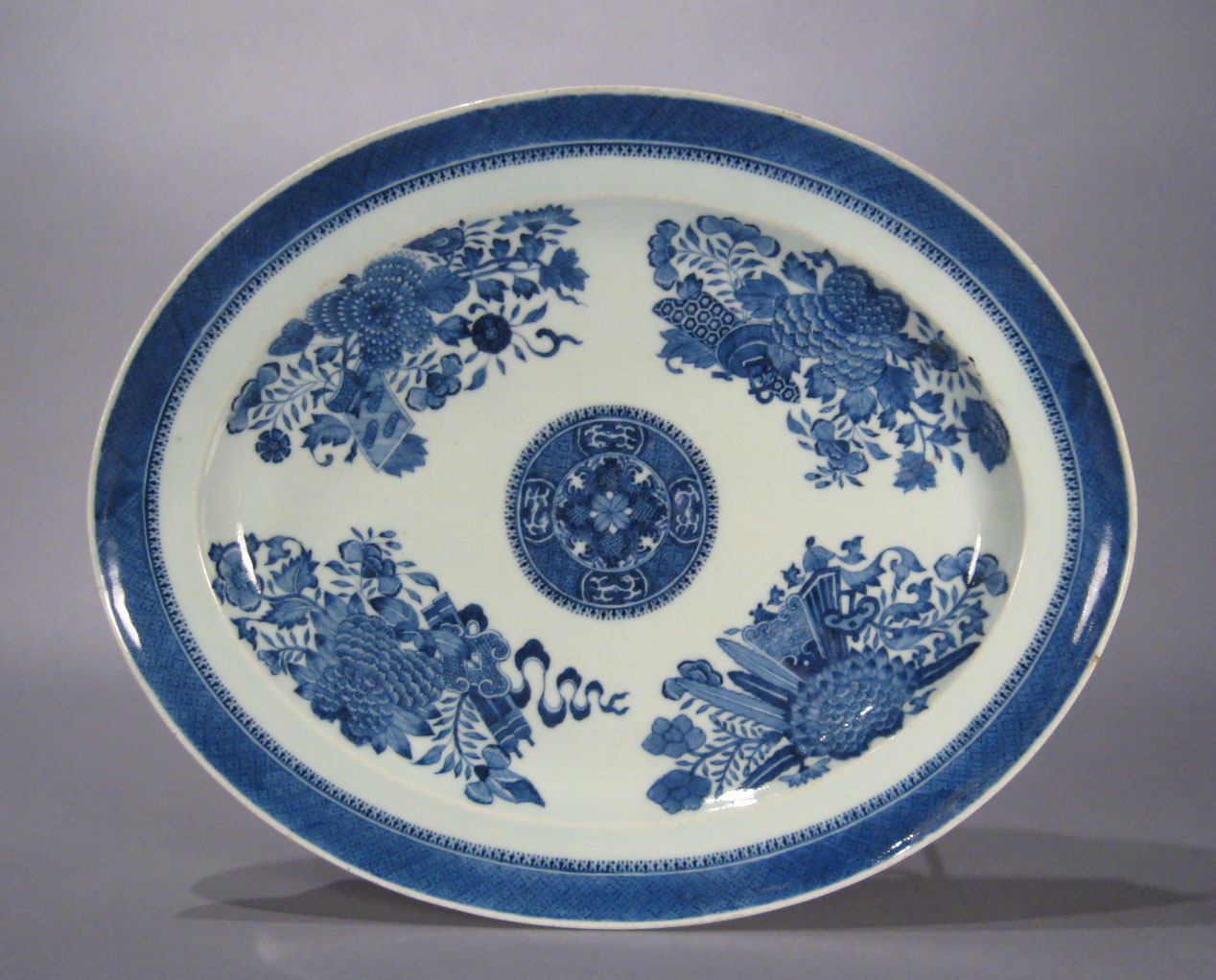 Chinese Export Porcelain Blue And White Soup Tureen C 1810