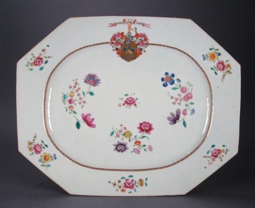 Armorial platter arms of McKay 1760