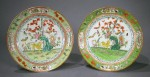 Famille_rose_pair_plates