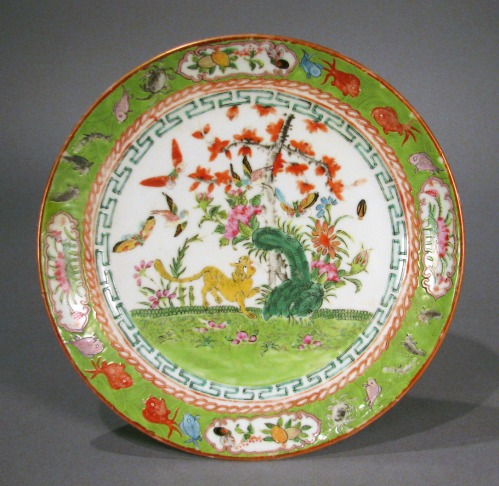Famille_rose_pair_plates_detail1