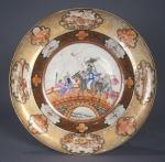Rockefeller soup plate