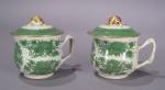 Fitzhugh green syllabub cups