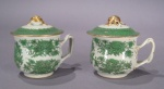 Fitzhugh green syllabub cups