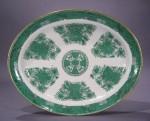 Fitzhugh large green platter