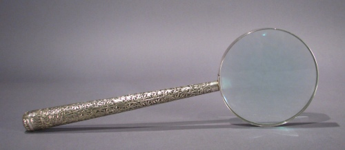 Sterling magnifying glass