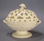 Wedgwood creamware lidded bowl