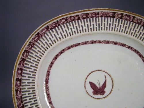 Van Rensselear reticulated plate detail