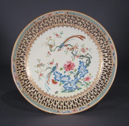 Chinese reticulated plate