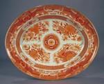 Orange fitzhugh platter 1790