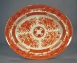Orange fitzhugh platter ending in 25(2)