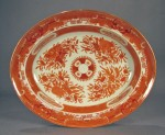 Orange fitzhugh platter ending in 25(2)