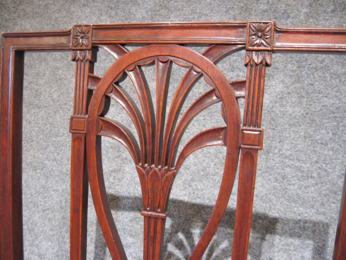 Philadelphia racquet back side chairs 1810 detail 1
