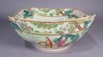 Rose mandarin cut corner bowl 1830