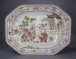 Spode platter with Mandarin motif
