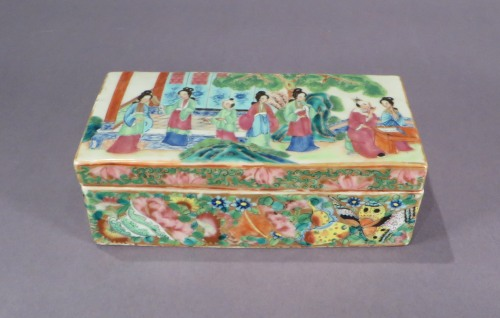Rose mandarin pen box