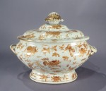 Sacred bird and butterfly tureen