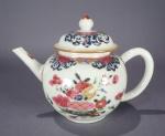 Famille rose teapot 1740