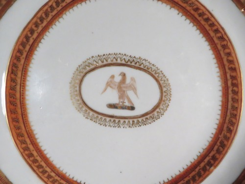 English market plate 1805 detail