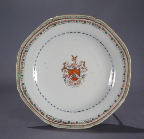 English market saucer 1760
