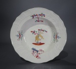 Caughley Kakiemon plate 1780