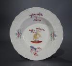 Caughley Kakiemon plate 1780