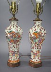 Mandarin pallette applied decoration lamps