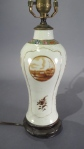 Chinese export sepia lamp 1810