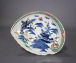 Imari shell form plate 1700