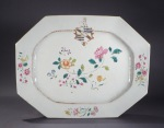 Armorial platter unidentified arms 1760