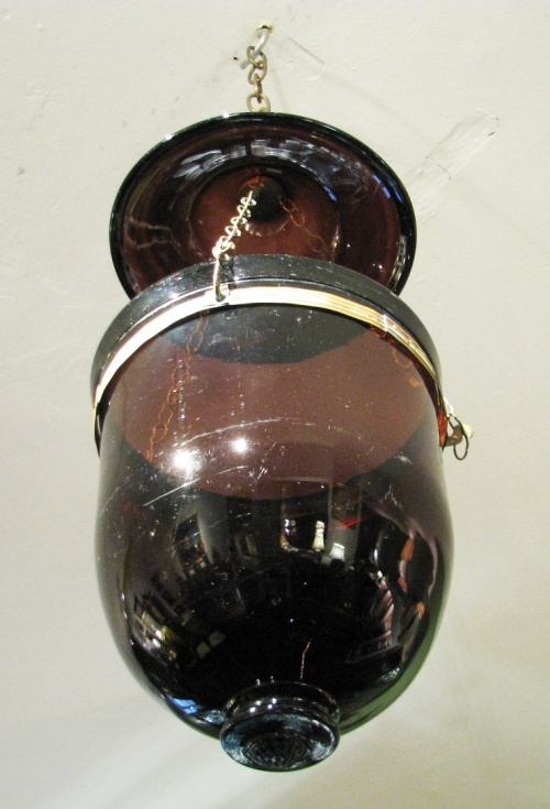 Amethyst smoke bell detail 1