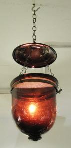 Amethyst smoke bell detail 2