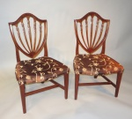 Philadelphia pair side chairs 1810