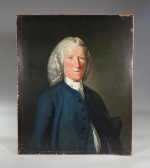 Alexander Grant oil portrait unframed