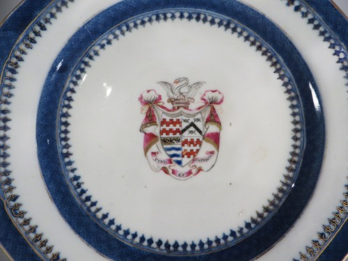 Armorial arms of james quartering james and moriskines plate 1790 detail 1