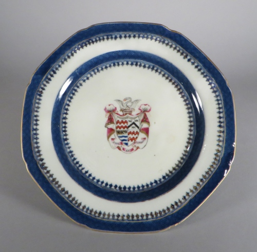 Armorial arms of james quartering james and moriskines plate 1790