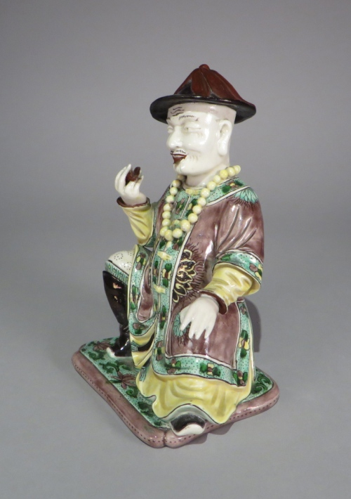 Mandarin figure detail 1