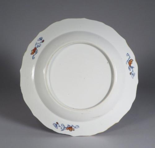 Chinese Imari pair plates 1750 detail 3