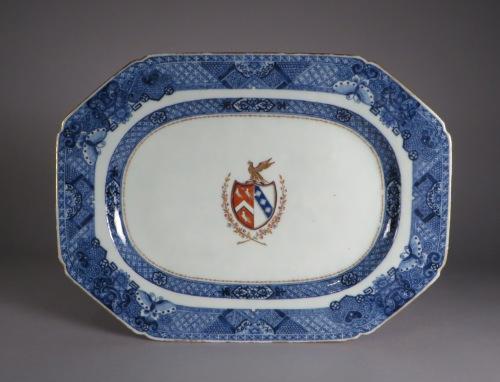 Armorial arms of page lowdham platter