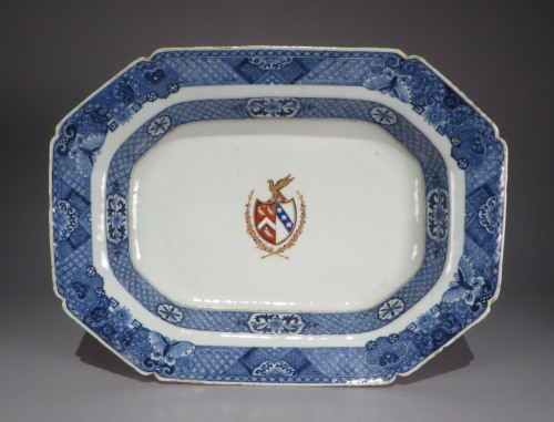 Armorial arms of page lowdham tureen underplate