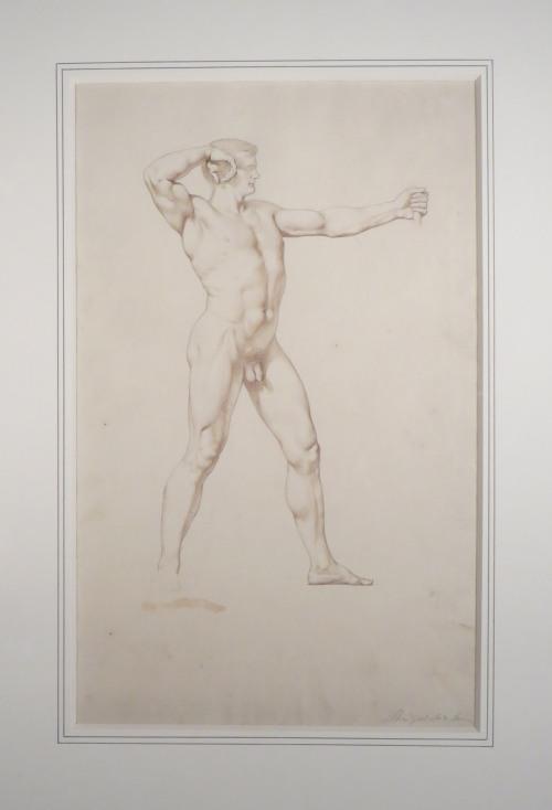 Archer framed drawing detail 1