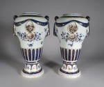 Samson pair urns no lids 1880