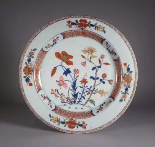 Chinese Imari charger 1740