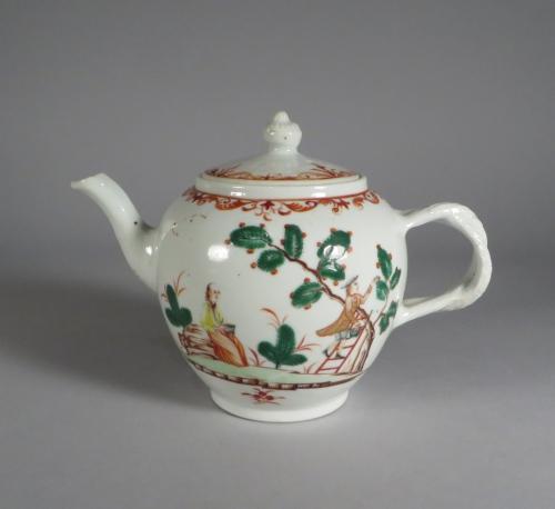 Famille verte teapot
