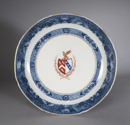armorial-saucer-pair-arms-of-page-1775-detail-1