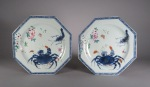 pair-of-rare-export-plates-with-crab-1760