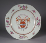 Armorial plate lindsay 1755