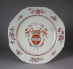 Armorial plate lindsay 1755
