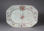 Armorial platter justice barbour 1760