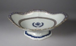 Blue and white compote 1790