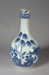 Blue and white gauglet 1760
